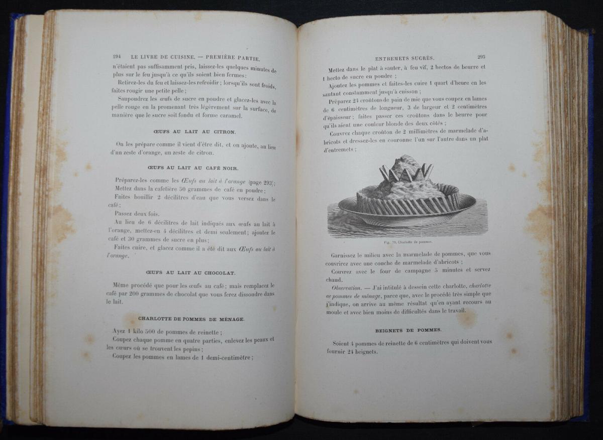JULES GOUFFÉ - LE LIVRE DE CUISINE - KOCHBÜCHER - 1888