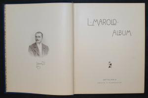 Marold Album - München 1899 - Karikaturen - Caricatures