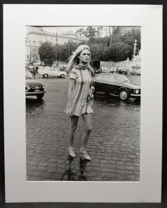 Brigitte Bardot - ORIGINAL-VINTAGE-PHOTO ROM 1969 40 X 30 cm