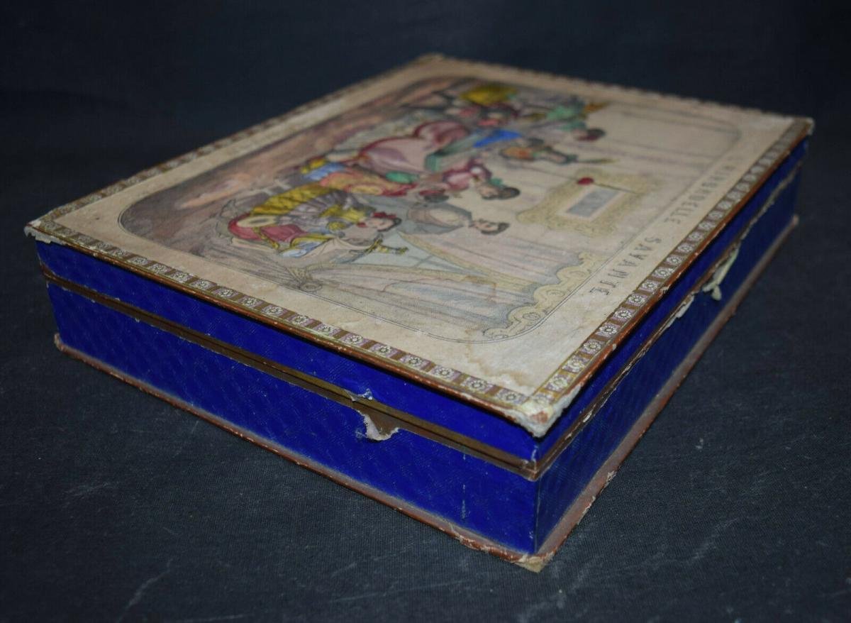 MECHANISCHES REISE-SPIEL UM 1860 SEHR SELTEN ! JEU GÉOGRAPHIQUE - GAMES - GAME 9