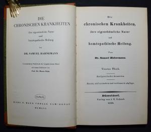 Hahnemann - Die chronischen Krankheiten - Band 4
