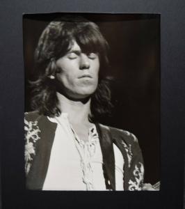 Rolling Stones - Keith Richards Original-Photographie Alberto Durazzi 1970