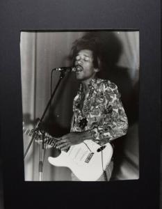JIMI HENDRIX - ORIGINAL-PHOTOGRAPHIE VON MIMMO CHIANURA ROM 1968