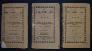 Der See-Offizier 1835 aus dem Eng. SEHR SELTENE ERSTE DEUTSCHE..