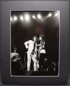 Rolling Stones - Original-Vintage-Photo - Rom - 1970