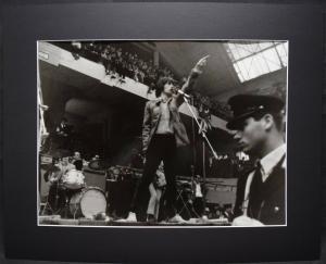 ROLLING STONES - MICK JAGGER ORIGINAL-VINTAGE-PHOTO - A. DURAZZI - MAILAND 1967