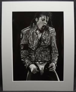 MICHAEL JACKSON - ORIGINAL-VINTAGE PHOTOGRAPHIE VON CAMILLA MORANDI - ROM 1992