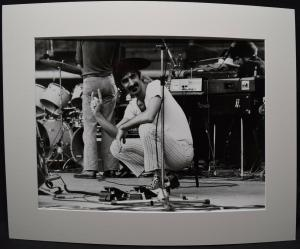 ZAPPA - ORIGINAL-VINTAGE-PHOTO PALASPORT DI SAN SIRO MAILAND  8. OKTOBER 1984