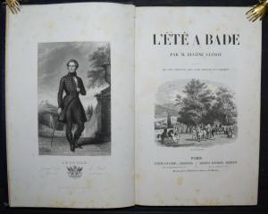Guinot -  L' été à Bade - 1847 -  Baden-Baden