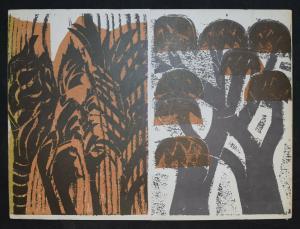 Grieshaber - Neue Holzschnitte - 1972 - nummeriert