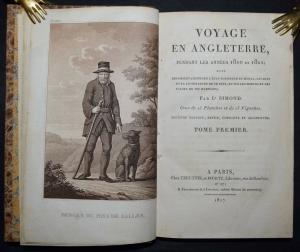 L. SIMOND - VOYAGE EN ANGLETERRE, PENDANT LES ANNÉES 1810 ET 1811 ENGLAND 1817