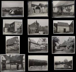 ÜBER 100 ORIGINAL-PHOTOS BADEN-WÜRTTEMBERG CA. 1933-40 - ARCHITEKTUR