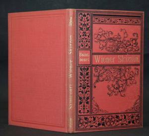 SAINTCOURT - WIENER SKIZZEN - 1890 - SEHR SELTEN UND EINZIGE AUSGABE
