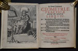 Schwenter - Geometriae practicae novae et auctae libri IV von 1667 ! - Geodäsie