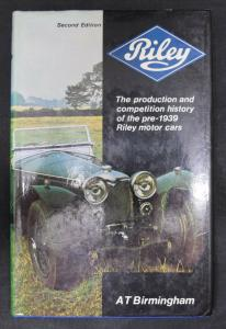 The production and competition history von Anthony T. Birmingham - 1974