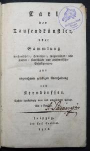 ZAUBERKUNSTSTÜCKE ZAUBEREI SORCERY MAGIC SORCELLERIE 1825