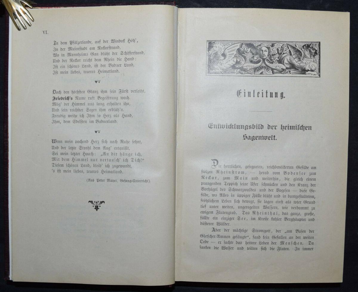 BADER U.A., BADISCHES SAGENBUCH BADENIA SAGEN 1898-1899 1
