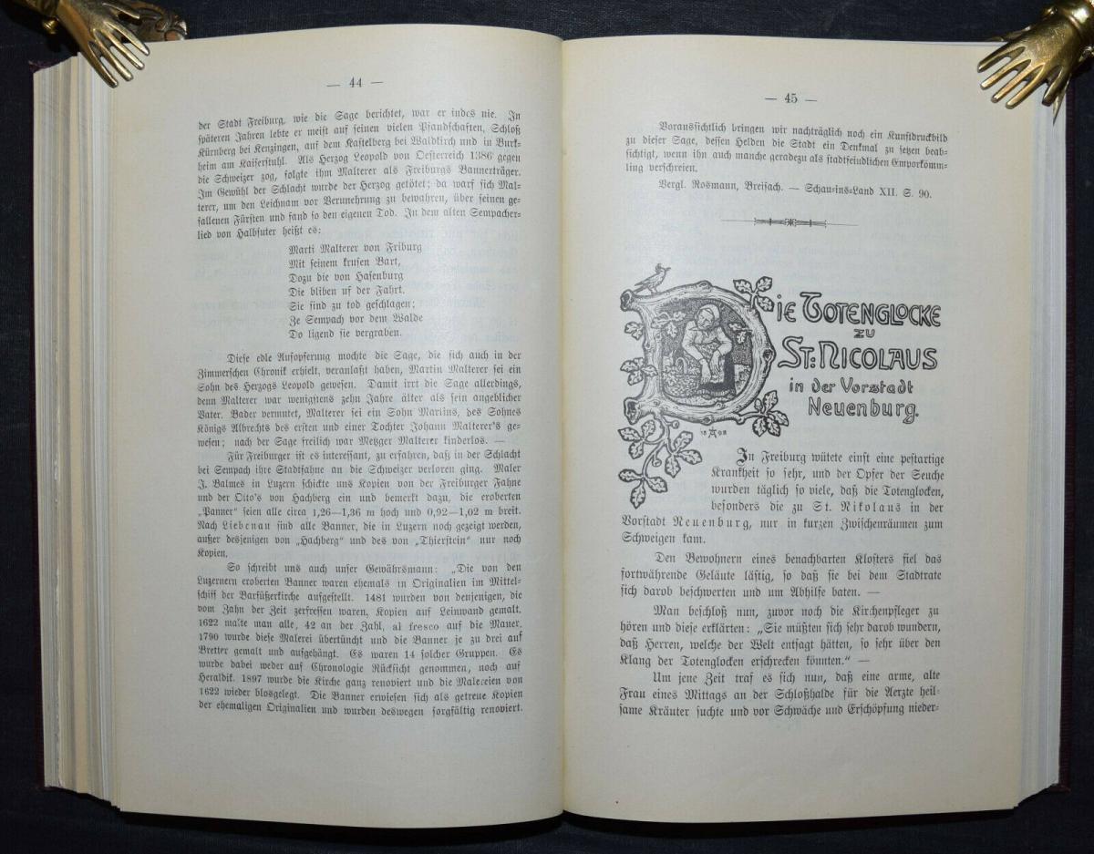 BADER U.A., BADISCHES SAGENBUCH BADENIA SAGEN 1898-1899 4