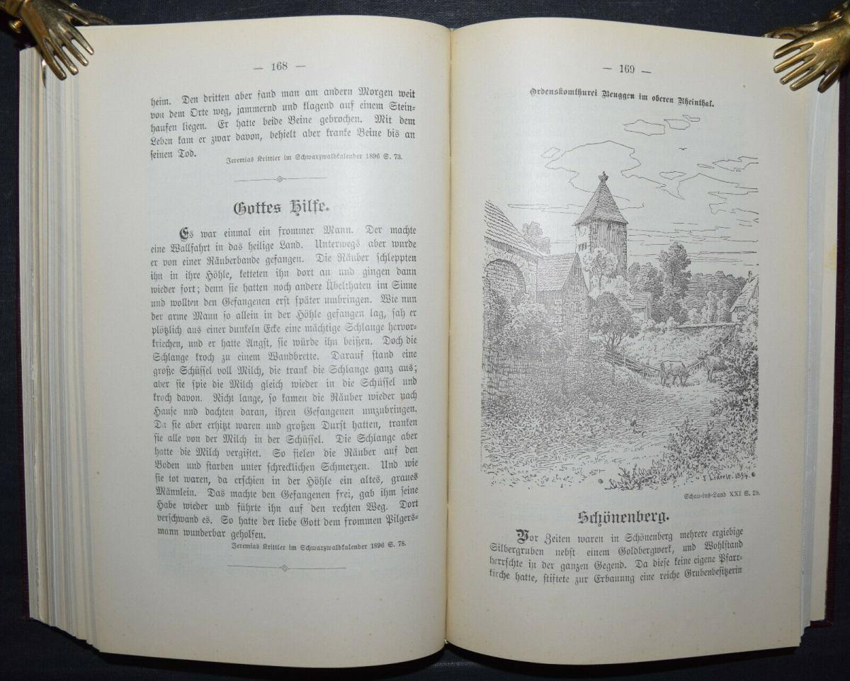 BADER U.A., BADISCHES SAGENBUCH BADENIA SAGEN 1898-1899 5