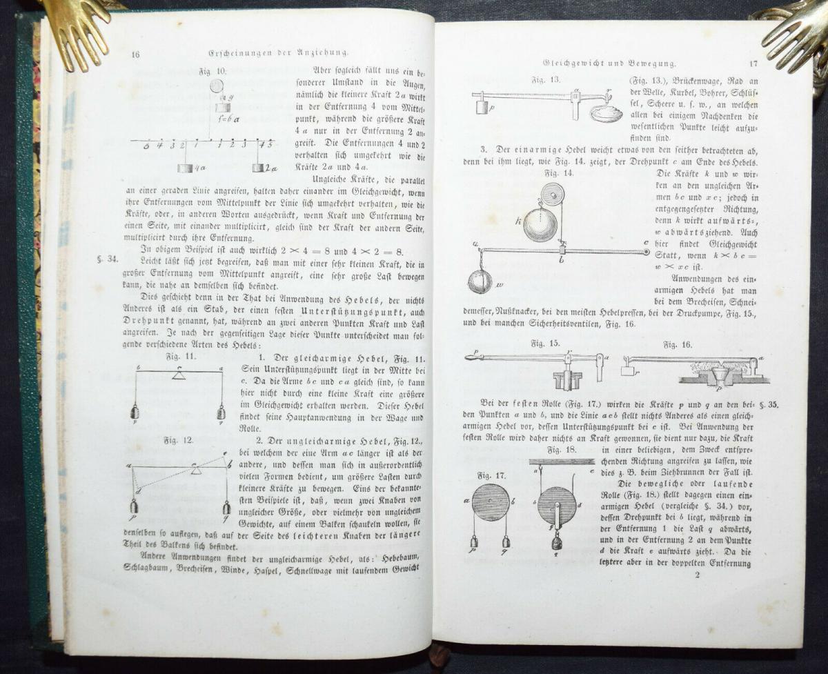 SCHULPREIS-EINBAND - SCHOEDLER, DAS BUCH DER NATUR - ASTRONOMIE CHEMIE BOTANIK 3
