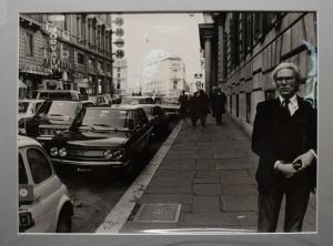 ANDY WARHOL - ORIGINAL-VINTAGE-PHOTO VON MIMMO FRASSINETI - ROM 1977