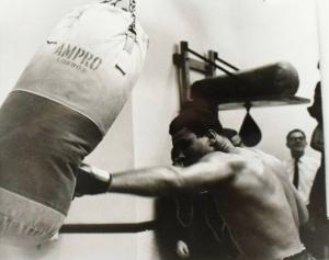 MUHAMMAD ALI - CASSIUS CLAY - ORIGINAL-VINTAGE-PHOTO - LONDON 1966 BOXEN BOXING