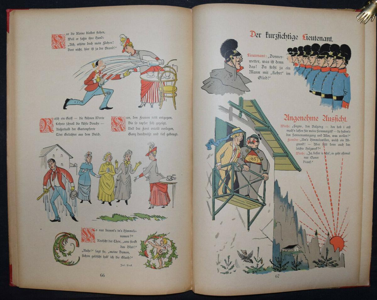 LOTHAR MEGGENDORFER - DER SONNENSCHEIN - UM 1886 - EINZIGE AUSGABE - SELTEN 11