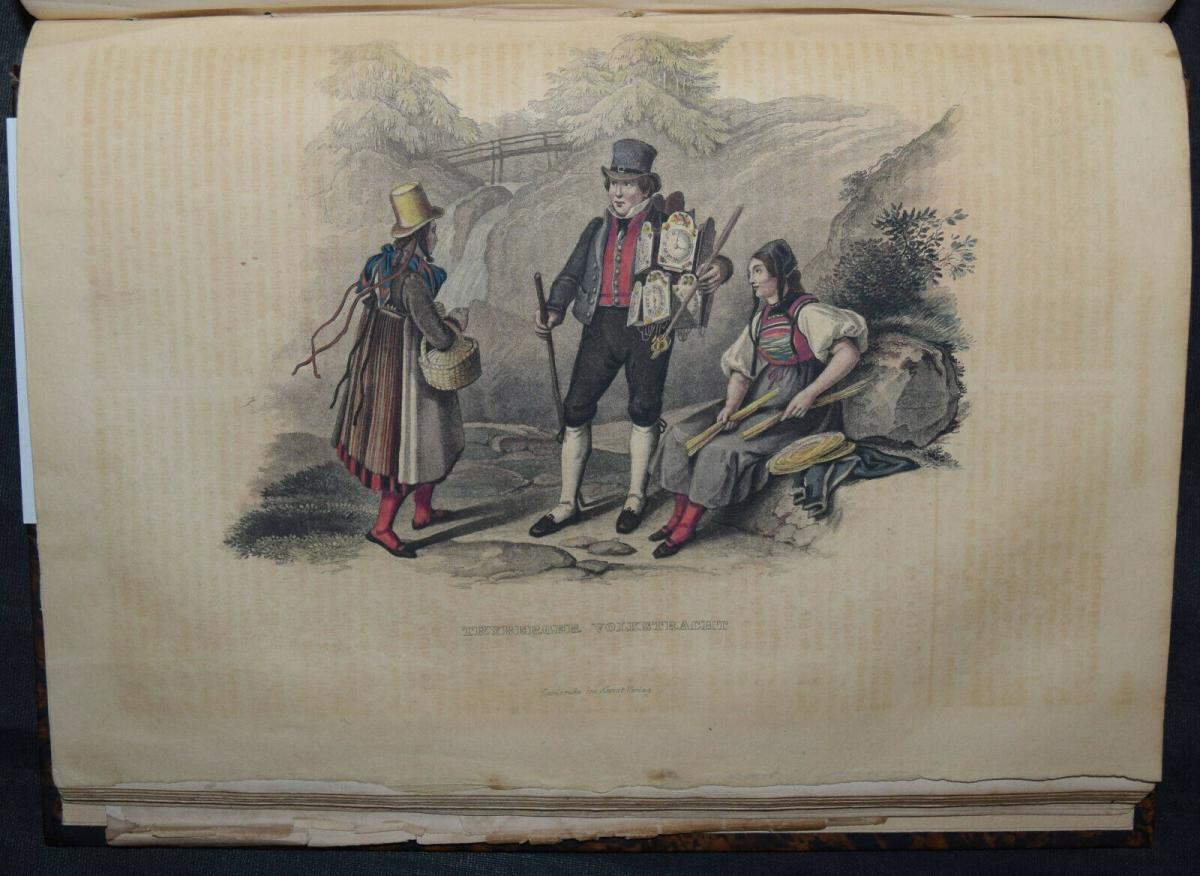 UNIVERSAL-LEXIKON VOM GROSSHERZOGTHUM BADEN - 1844 - HUHN - TRACHTEN - BADENIA 0