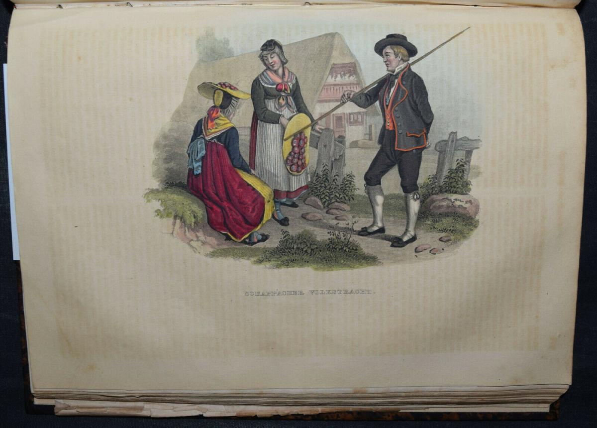 UNIVERSAL-LEXIKON VOM GROSSHERZOGTHUM BADEN - 1844 - HUHN - TRACHTEN - BADENIA 1