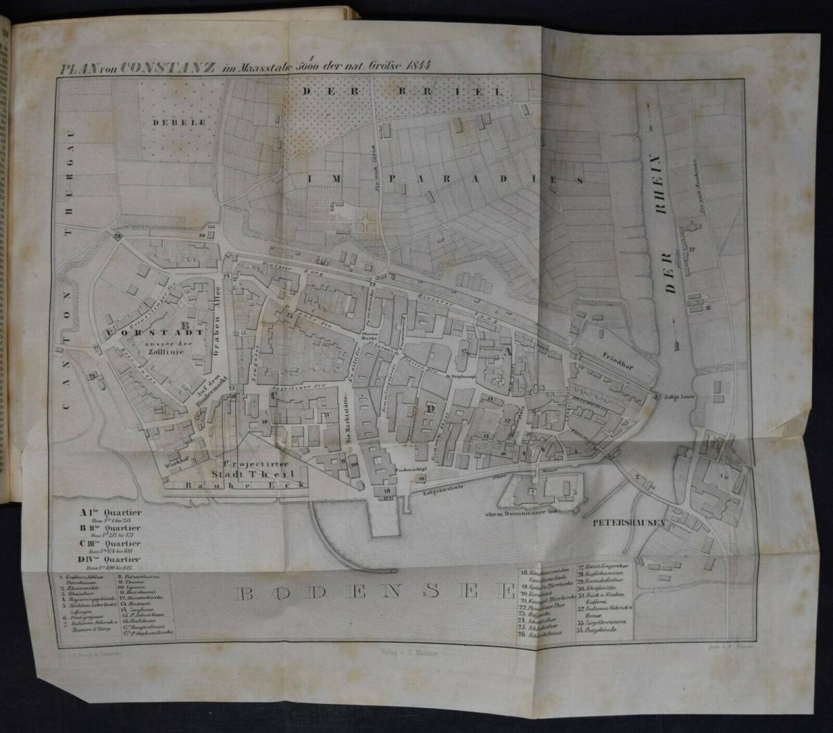 UNIVERSAL-LEXIKON VOM GROSSHERZOGTHUM BADEN - 1844 - HUHN - TRACHTEN - BADENIA 7