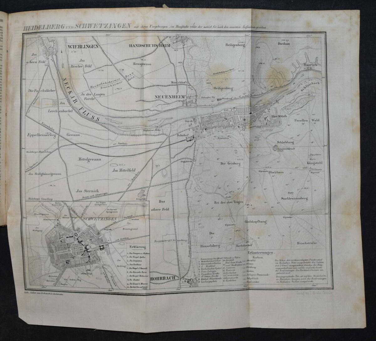 UNIVERSAL-LEXIKON VOM GROSSHERZOGTHUM BADEN - 1844 - HUHN - TRACHTEN - BADENIA 8