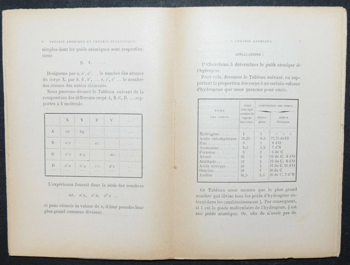 EMILE LENOBLE - LA THEORIE ATOMIQUE - 1896 - ATOMPHYSIK -  KERNPHYSIK 2
