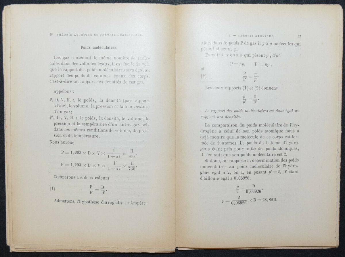 EMILE LENOBLE - LA THEORIE ATOMIQUE - 1896 - ATOMPHYSIK -  KERNPHYSIK 4