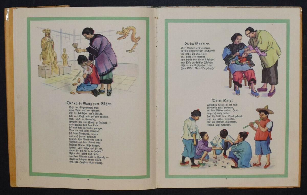 AGIM ERZÄHLT AUS CHINA - ANNA OEHLER - ERSTAUSGABE 1924 - MISSIONSLITERATUR 4