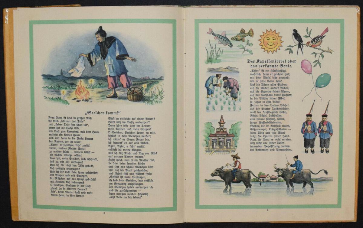 AGIM ERZÄHLT AUS CHINA - ANNA OEHLER - ERSTAUSGABE 1924 - MISSIONSLITERATUR 5