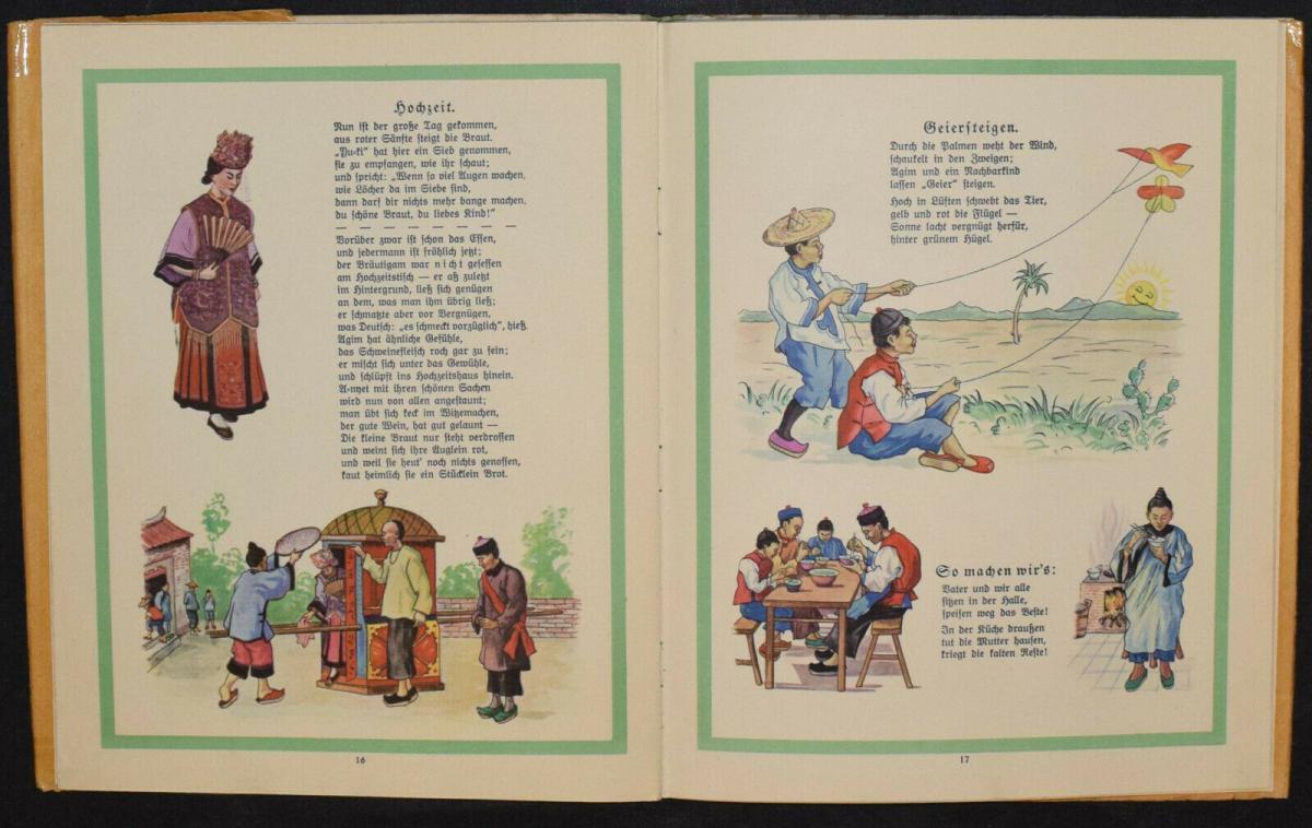 AGIM ERZÄHLT AUS CHINA - ANNA OEHLER - ERSTAUSGABE 1924 - MISSIONSLITERATUR 6