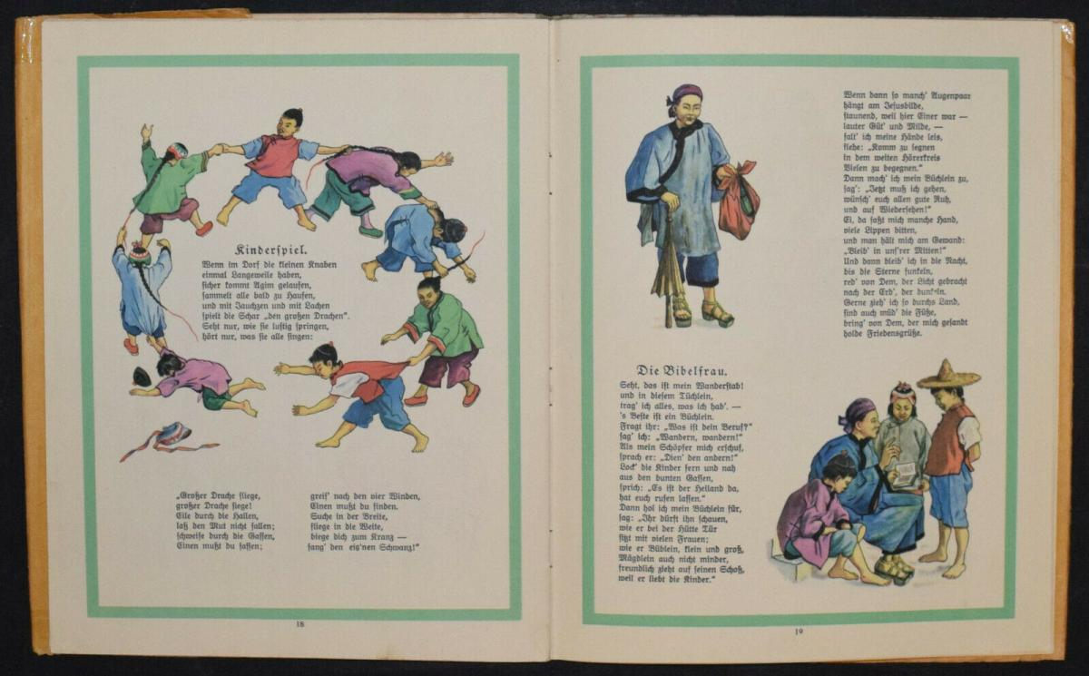 AGIM ERZÄHLT AUS CHINA - ANNA OEHLER - ERSTAUSGABE 1924 - MISSIONSLITERATUR 7