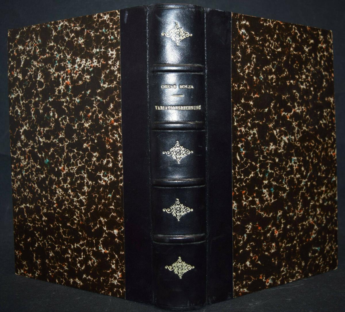 BOLZA, VORLESUNGEN ÜBER VARIATIONSRECHNUNG MATHEMATIK - 1909 - SELTENE ERSTE EA 5