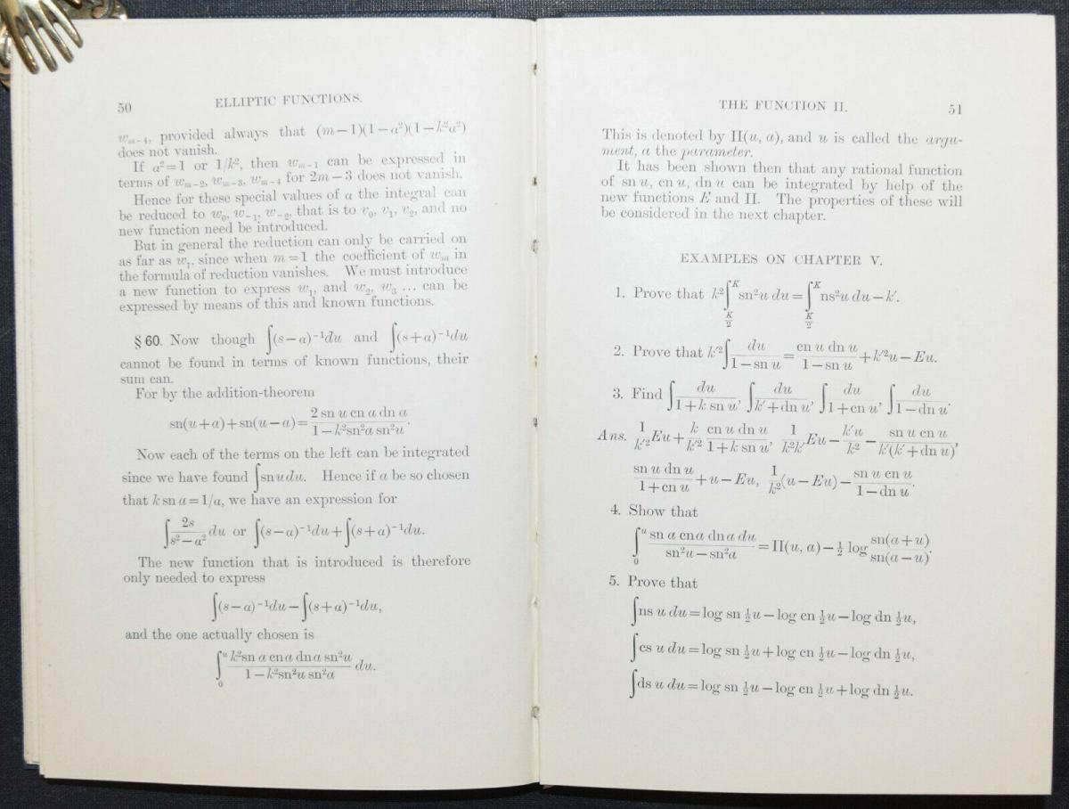 THE ELEMENTARY PROPERTIES OF THE ELLIPTIC FUNCTIONS - ALFRED DIXON - 1894 3