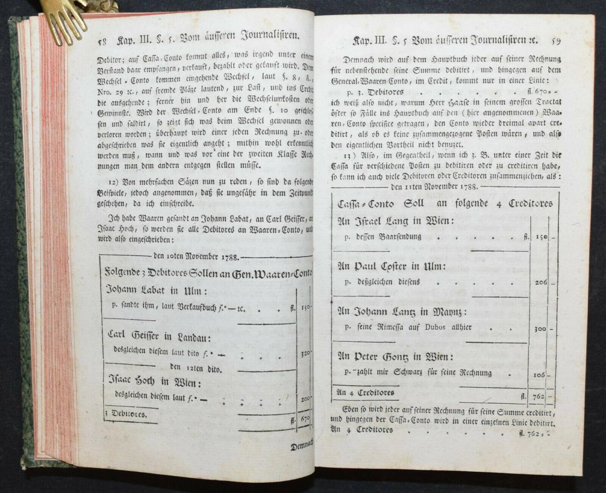 EULER - NEUES HANDLUNGS-LEXIKON - SELTENE ERSTE AUSGABE - 1790 - HANDEL 3