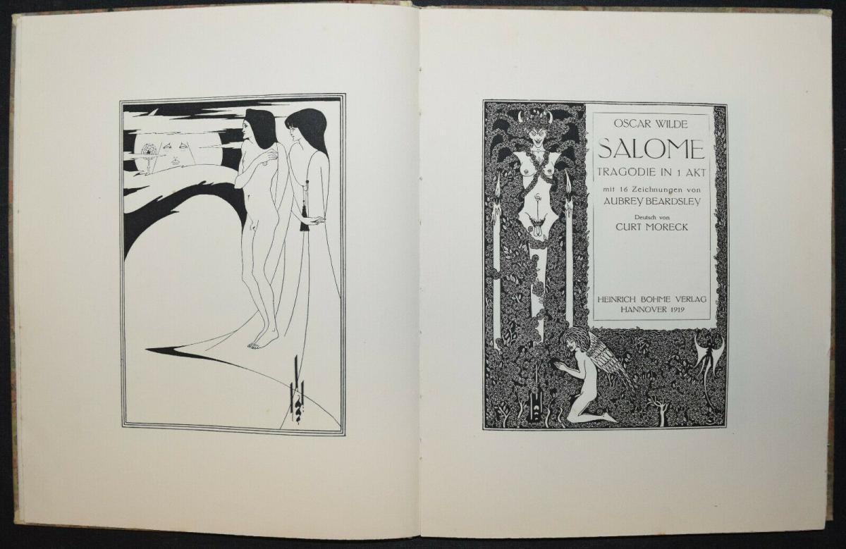 Oscar Wilde - Salome mit 16 Zeichnungen von Aubrey Beardsley 0