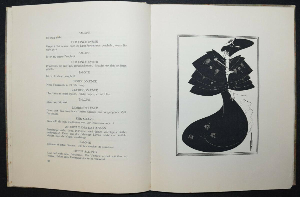 Oscar Wilde - Salome mit 16 Zeichnungen von Aubrey Beardsley 2