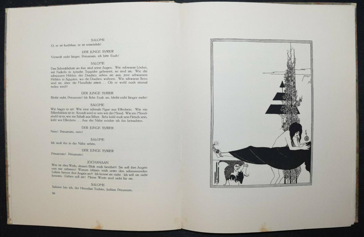 Oscar Wilde - Salome mit 16 Zeichnungen von Aubrey Beardsley 3