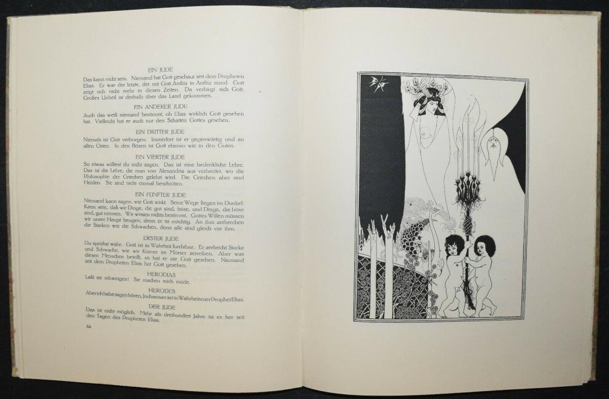 Oscar Wilde - Salome mit 16 Zeichnungen von Aubrey Beardsley 4