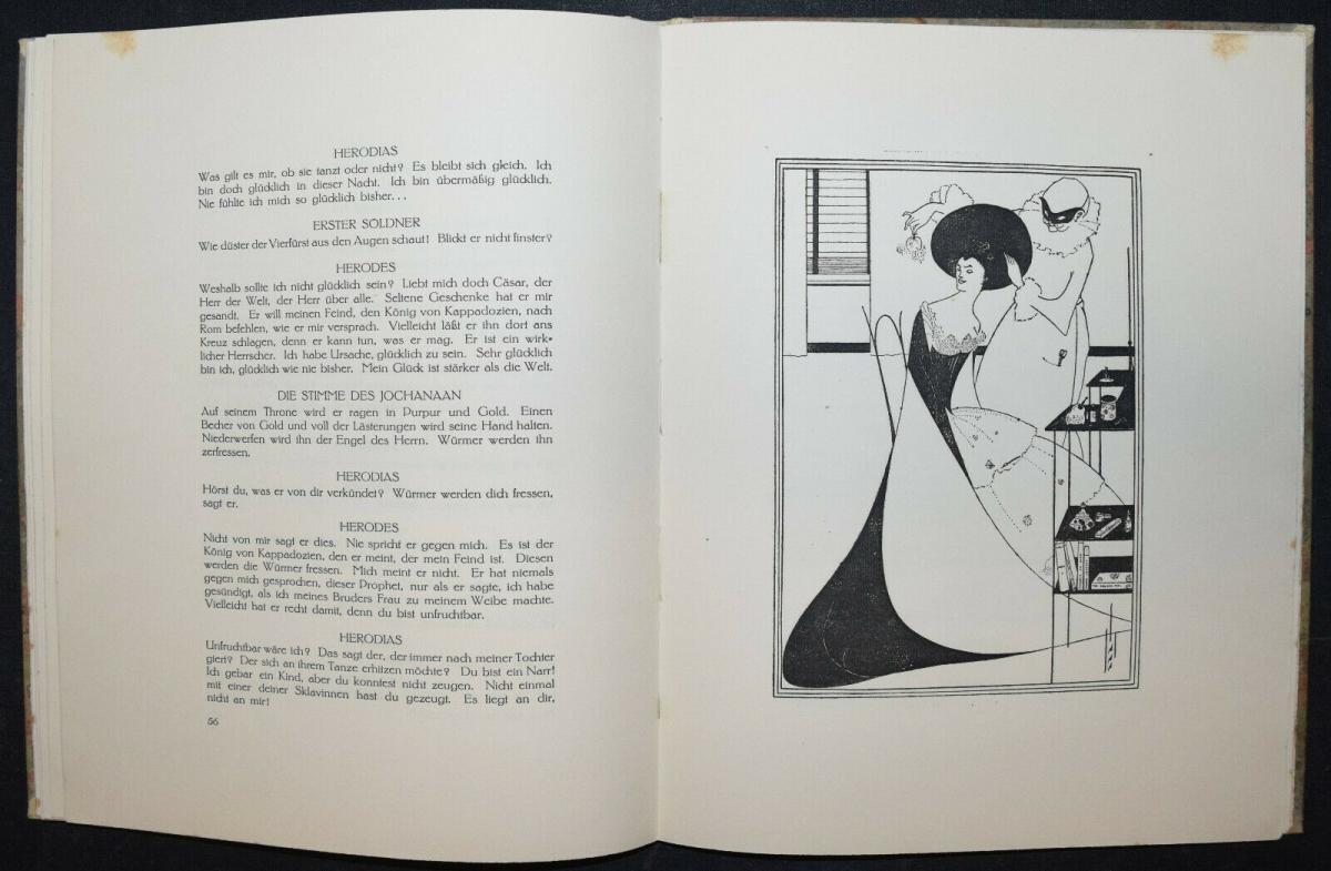 Oscar Wilde - Salome mit 16 Zeichnungen von Aubrey Beardsley 6