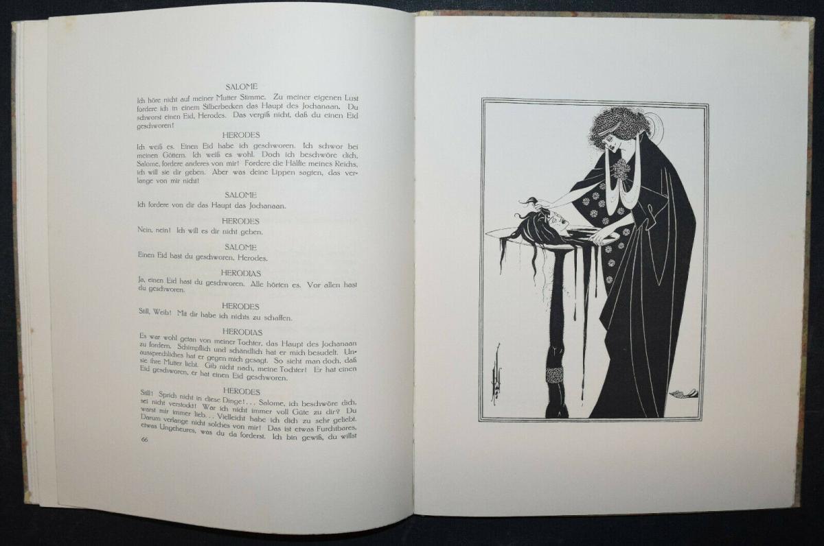 Oscar Wilde - Salome mit 16 Zeichnungen von Aubrey Beardsley 7