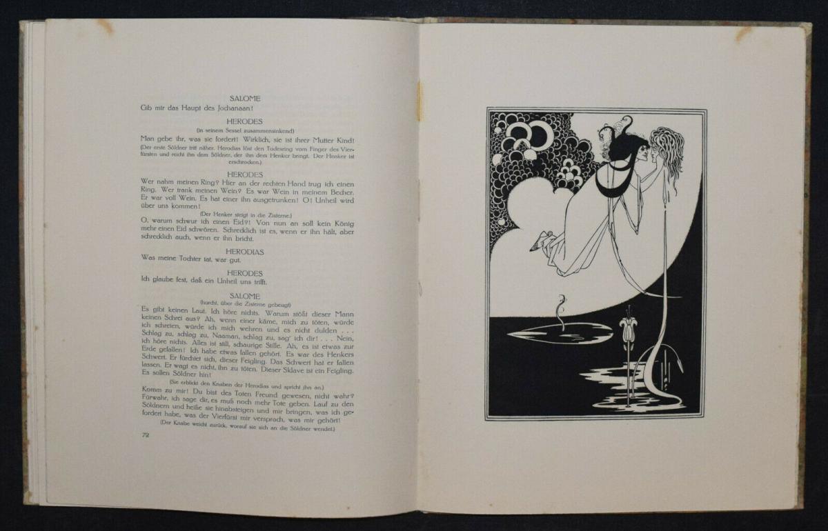Oscar Wilde - Salome mit 16 Zeichnungen von Aubrey Beardsley 8