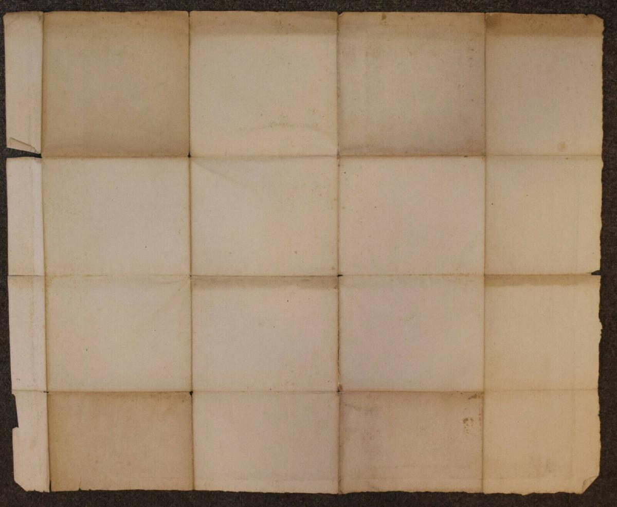 NORDRHEIN WESTFALEN – SELTENE REGIONAL-KARTE UM 1805 - NRW 1