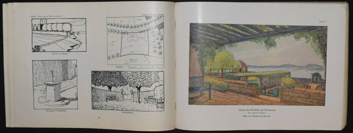 Hausgärten - 1908 - Gartenarchitektur - Gärten - Gartenbau 2