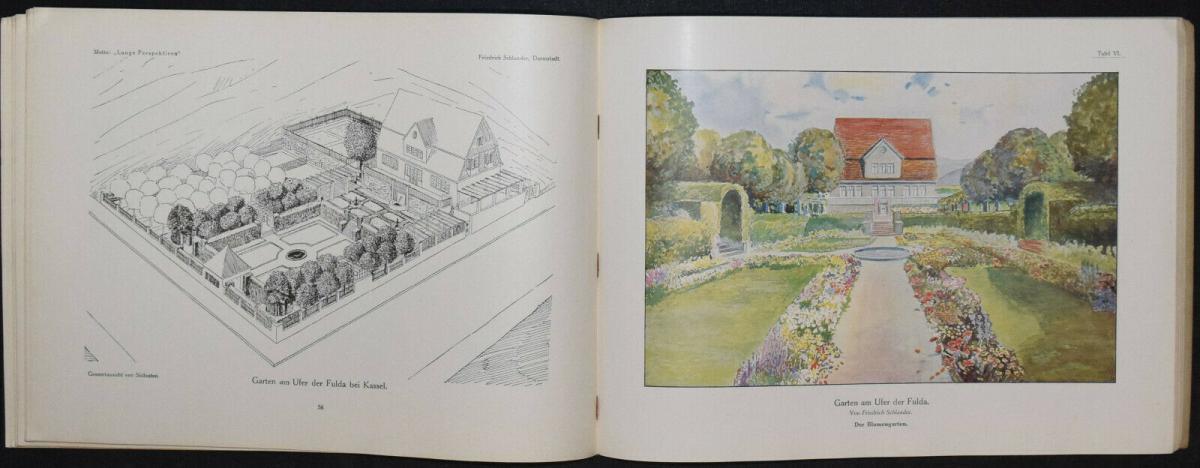 Hausgärten - 1908 - Gartenarchitektur - Gärten - Gartenbau 4